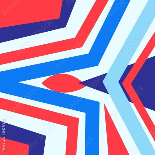 Fényképezés Lovely vector abstract background