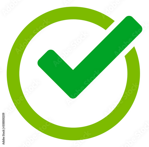 Obraz Validity vector icon. Flat Validity symbol is isolated on a white background. - fototapety do salonu