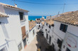 Beautiful summer sunny view of Altea old town, Altea, Marina Baixa, province of Alicante, Mediterranean coast, the Costa Blanca, Valencian Community