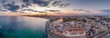 Aerial View Of Tel Aviv Yafo A...