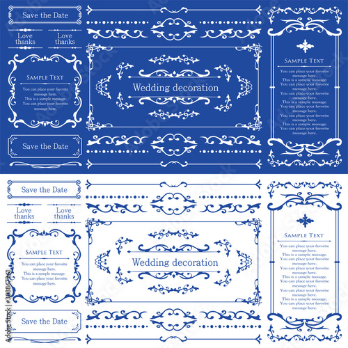 Photo ウェディング デコレーション素材 ブライダル 結婚式の招待状