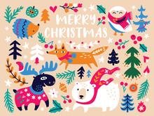 Christmas Card Design Template...