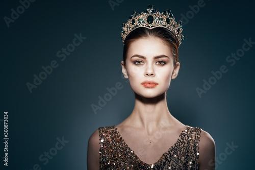 Fotografie, Obraz beautiful woman charm luxury model