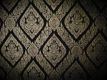 Kanok Thai Pattern In The Temp...