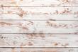 Leinwandbild Motiv White wooden texture as background