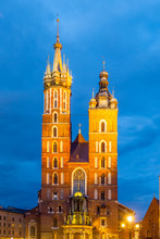 St. Mary Church With Two Tower...