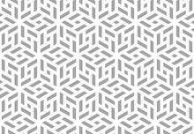 Abstract Geometric Pattern. A ...