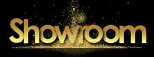 Showroom In Golden Stars Backg...