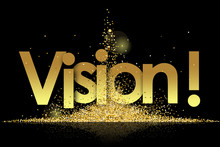 Vision In Golden Stars And Bla...