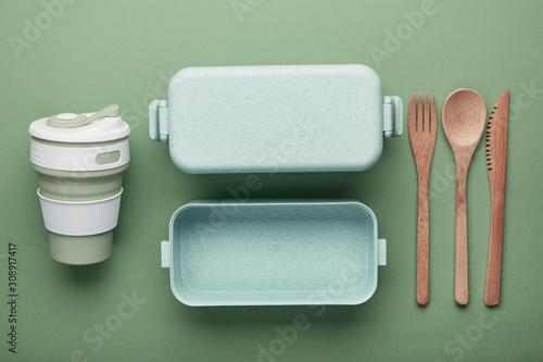 Fotografía Zero waste lunch concept