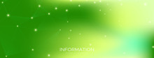 Green Wireless Texture. Technology Visualization.