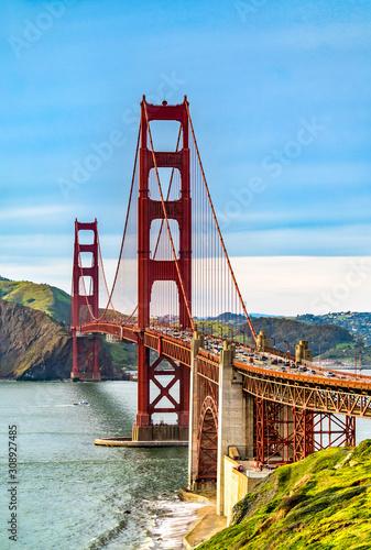 фотография Golden Gate Bridge in San Francisco, California