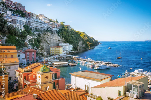 Fototapety, obrazy: Scenic landscapes of the Gulf of Naples and Sorrento, Italy