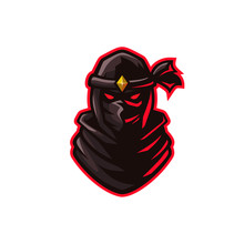 Ninja Sport E-sport Mascot Gam...