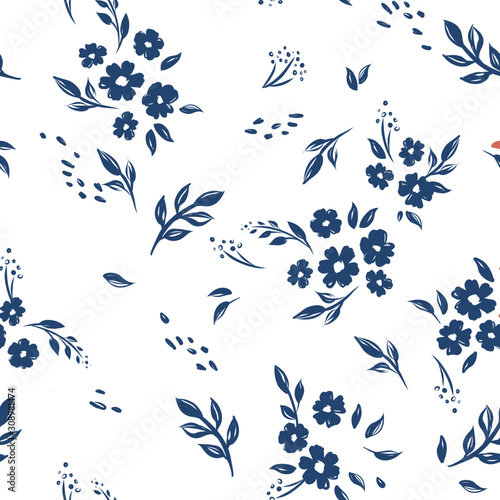 seamless-cute-floral-vector-pattern-background-flower-pattern-on-white-background