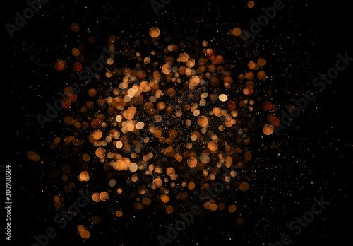 Canvas-taulu Blowing Glitter