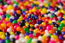 Background Of Colorful Candy S...