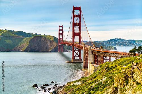 Cuadros en Lienzo Golden Gate Bridge in San Francisco, California