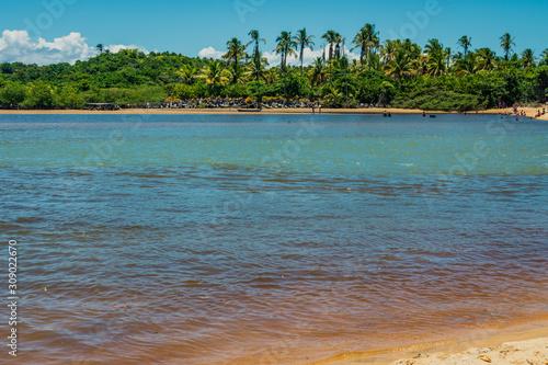 Fotografia, Obraz O mar invade o Rio Caraíva
