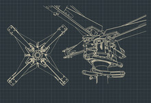 Helicopter Rotor Drawings