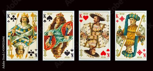 Photo Kartensiel - Spielkarten