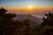 Huangshan mountain, Sunrise, Anhui, China
