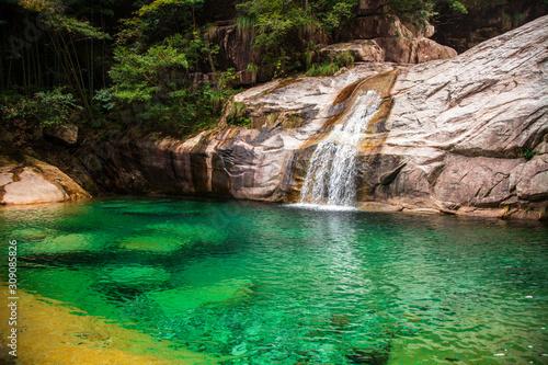Jiulong Waterfall, Huangshan Scenic Area, Anhui, China #309085826