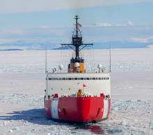 Ice Breaker, Polar Star, McMurdo Station Antarctica
