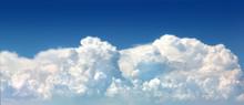 Sky With Big Cloud Single Beautiful,