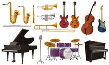 ジャズ演奏に使われる...