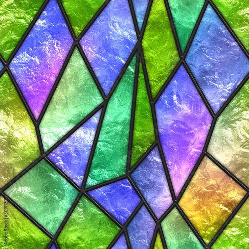 witraz-bezszwowa-tekstura-dla-okno-3d-ilustracja