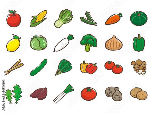 Obraz 野菜 - fototapety do salonu