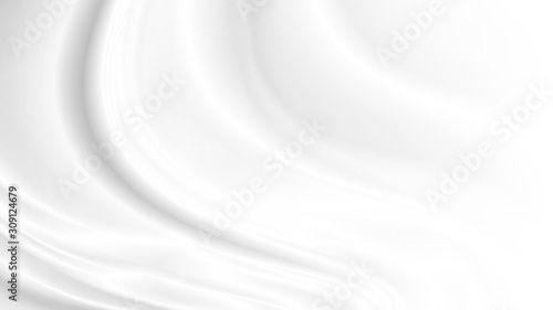 Fotografia White cloth background with copy space