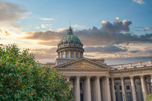 Kazan Cathedral In The City Of...