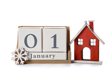 Calendar With Date Of New Year...