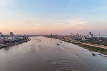 Phnom Penh City Skyline, Tonle...