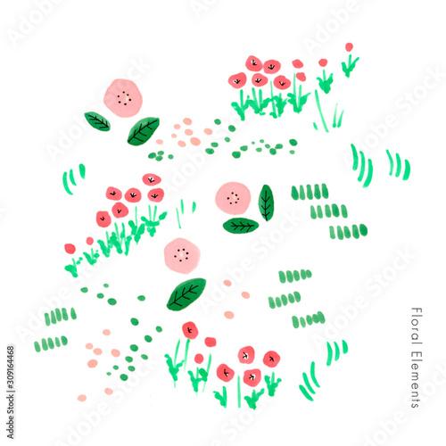 Photo ピンクの花畑のイメージ