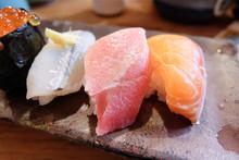 Sushi Set, Japanese Cuisine