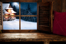Window Winter Sill Of Free Spa...