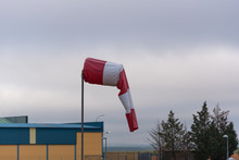 Windsock In A Helipad