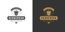 Coffee Shop Logo Template Vect...