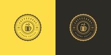 Coffee Or Tea Shop Logo Templa...