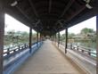 平安神宮の庭園の橋、京都、日本