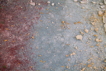 Blue And Red Clay Soil