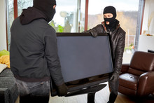 Burglars Steal Televisions As ...