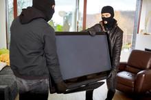 Burglars Steal Televisions As Loot