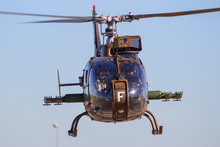 French Army SA-342 Gazelle Helicopter