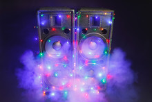 Music Speakers With Festive Ch...