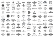 Collection Of Vintage Logos An...