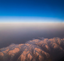 Mountain Winter, View Airplane